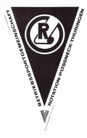 Rotation Pößneck. Bis 1991 eigenständige Fußballmannschaft