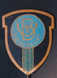 2. August 1909 bis 1945 VfB 09 Pößneck